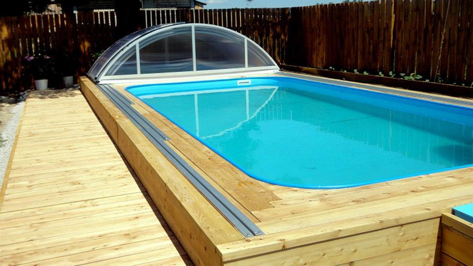 Zahradní bazény do země