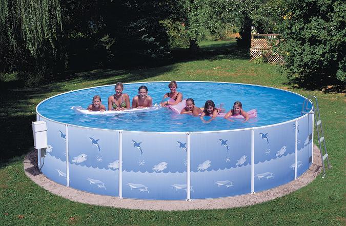 Nadzemní bazény s konstrukcí – proč je zvolit a jaké mají výhody?