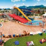 Termální koupaliště Bešeňová – komplex několika bazénů